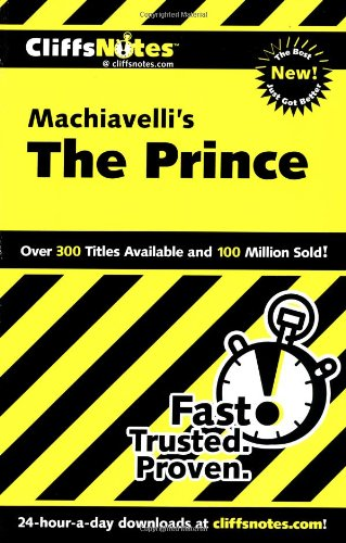 Machiavelli's the Prince   2001 edition cover