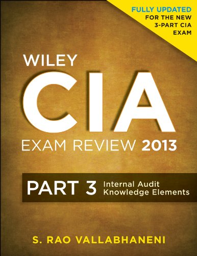 Internal Audit Knowledge Elements  4th 2013 9781118120637 Front Cover