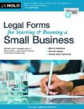 Legal Forms for Starting and Running a Small Business  8th edition cover