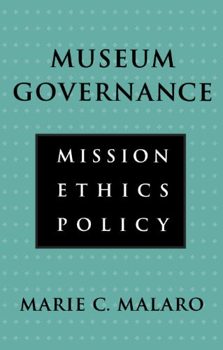 Museum Governance Mission, Ethics, Policy  1994 edition cover