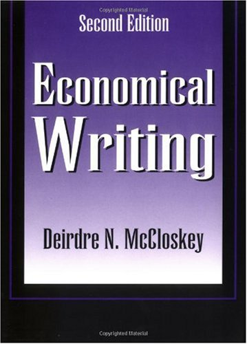 Economical Writing  2nd 2000 edition cover