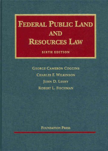 Federal Public Land and Resources Law  6th 2007 (Revised) edition cover