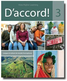 D' Accord! Level 3  Student Manual, Study Guide, etc. edition cover