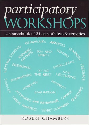 Participatory Workshops A Sourcebook of 21 Sets of Ideas and Activities  2002 edition cover