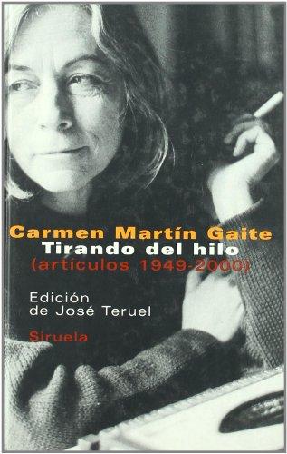 Tirando del hilo / Pulling the Thread:  2006 edition cover
