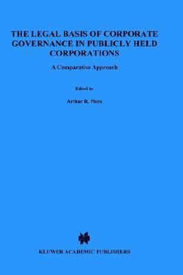 Legal Basis of Corporate Governance in Publicly Held Corporations A Comparative Approach  1998 edition cover