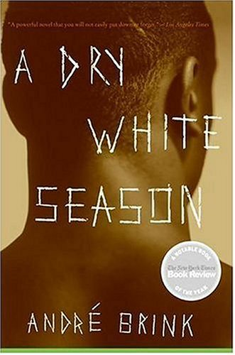 Dry White Season  N/A 9780061138638 Front Cover