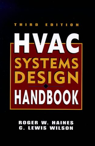 HVAC Systems Design Handbook  3rd 1998 9780070259638 Front Cover
