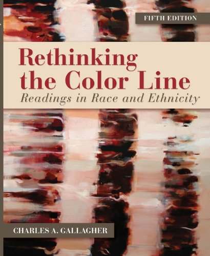 Rethinking the Color Line Readings in Race and Ethnicity 5th 2012 edition cover