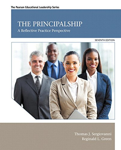 The Principalship: A Reflective Practice Perspective With Video-enhanced Pearson Etext Access Card Package  2014 9780133833638 Front Cover