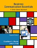 Business Communication Essentials: Student Value Edition  2015 edition cover