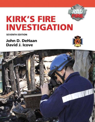 Kirk's Fire Investigation  7th 2012 (Revised) edition cover