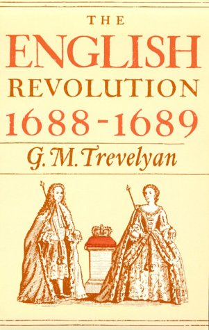 English Revolution, 1688-1689   1965 9780195002638 Front Cover