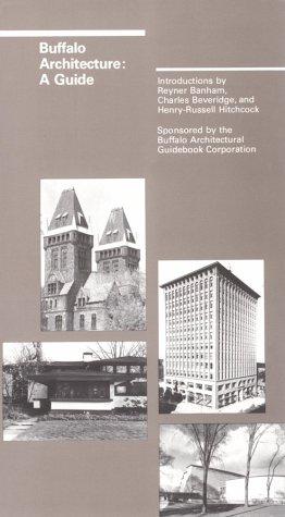 Buffalo Architecture A Guide  1982 edition cover
