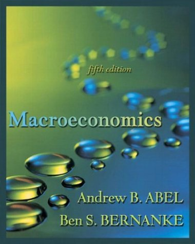 Macroeconomics  5th 2004 9780321199638 Front Cover