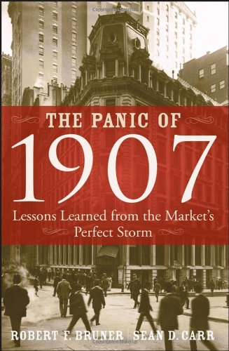Panic Of 1907 Lessons Learned from the Market's Perfect Storm  2007 edition cover