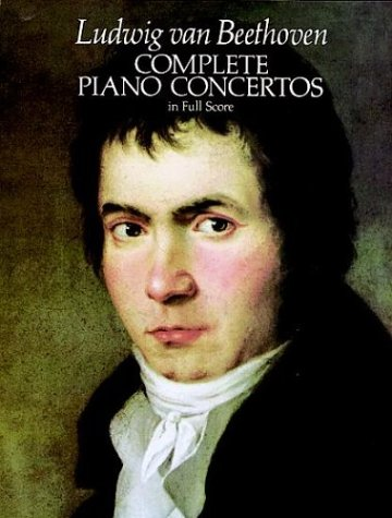 Complete Piano Concertos in Full Score  Reprint  edition cover