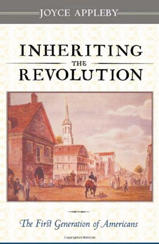 Inheriting the Revolution The First Generation of Americans  2000 edition cover
