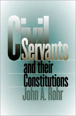 Civil Servants and Their Constitutions   2002 edition cover