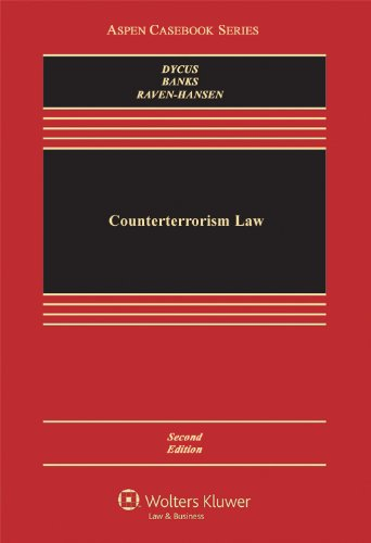 Counterterrorism Law  2nd 2012 (Revised) edition cover