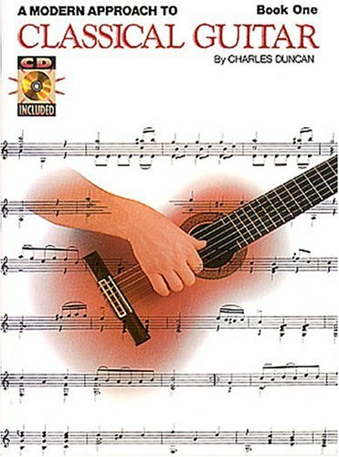 Classical Guitar Method Modern Approach 2nd 1996 (Revised) edition cover