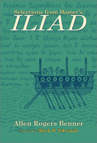 Selections from Homer's Iliad   2001 9780806133638 Front Cover