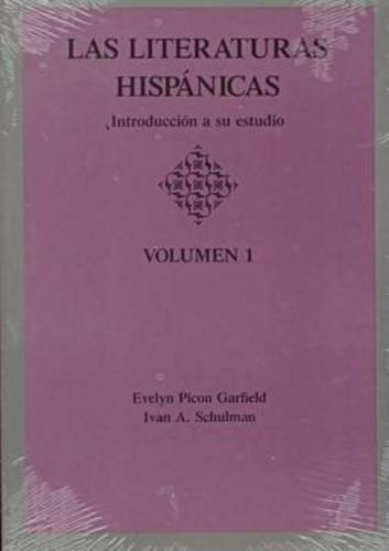 Literaturas Hispanicas Introduccion a Su Estudio  1991 edition cover