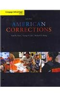 Cengage Advantage Books: American Corrections  10th 2013 edition cover