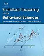 Statistical Reasoning in the Behavioral Sciences  6th 2012 edition cover
