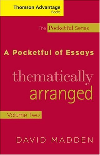 Pocketful of Essays Thematically Arranged  2006 (Revised) edition cover