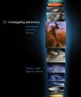 Investigating Astronomy A Conceptual View of the Universe  2012 edition cover