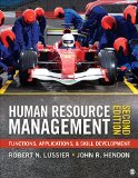 Human Resource Management Functions, Applications, and Skill Development 2nd 2016 edition cover
