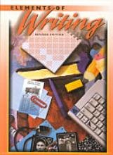 Elements of Writing  1998 (Revised) 9780030508639 Front Cover
