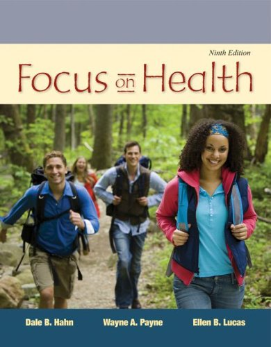 Focus on Health  9th 2009 9780073404639 Front Cover