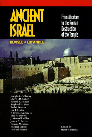 Ancient Israel From Abraham to the Roman Destruction of the Temple 2nd 2000 edition cover