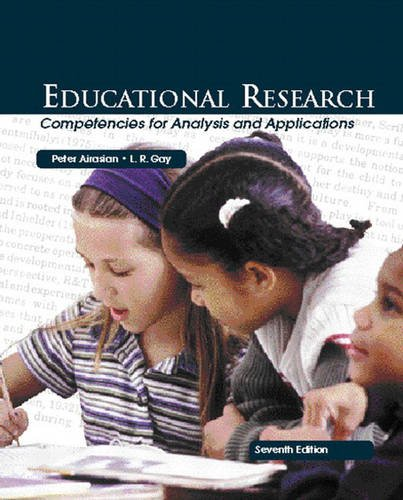 Educational Research Competencies for Analysis and Applications 7th 2003 9780130994639 Front Cover