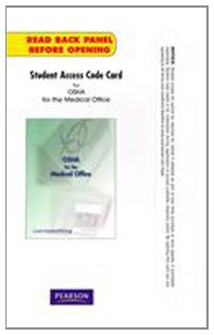 Student Access Code Card   2011 9780132156639 Front Cover