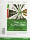 Financial Accounting, Student Value Edition  10th 2015 edition cover