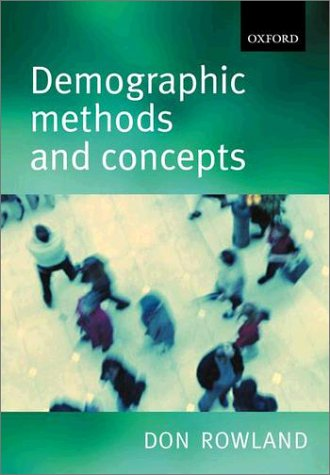 Demographic Methods and Concepts   2003 edition cover