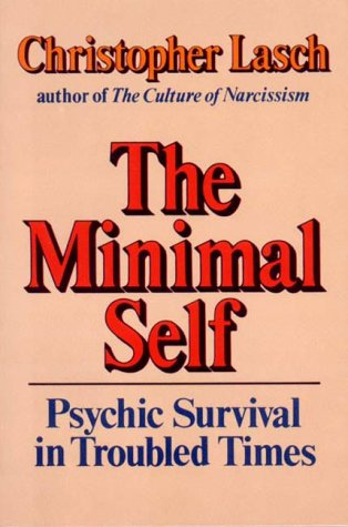 Minimal Self Psychic Survival in Troubled Times Reprint 9780393302639 Front Cover