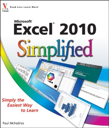 Excel� 2010   2010 9780470577639 Front Cover