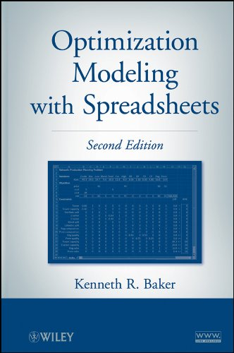 Optimization Modeling with Spreadsheets  2nd 2011 edition cover