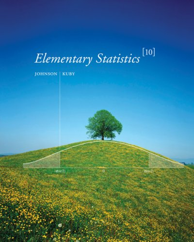 Elementary Statistics  10th 2007 edition cover