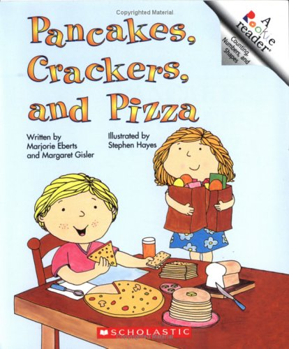 Pancakes, Crackers, and Pizza A Book of Shapes N/A edition cover