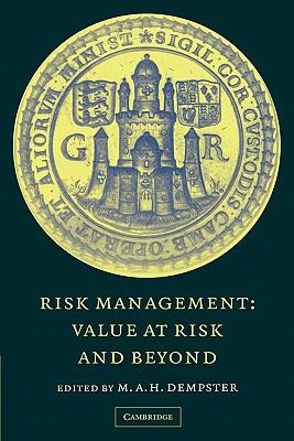 Risk Management Value at Risk and Beyond  2010 9780521169639 Front Cover