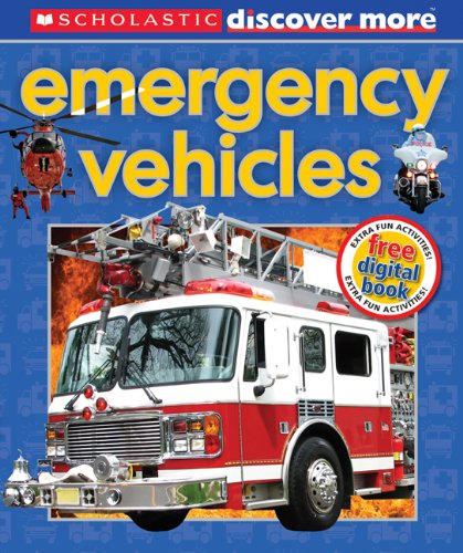 Emergency Vehicles   2013 9780545495639 Front Cover