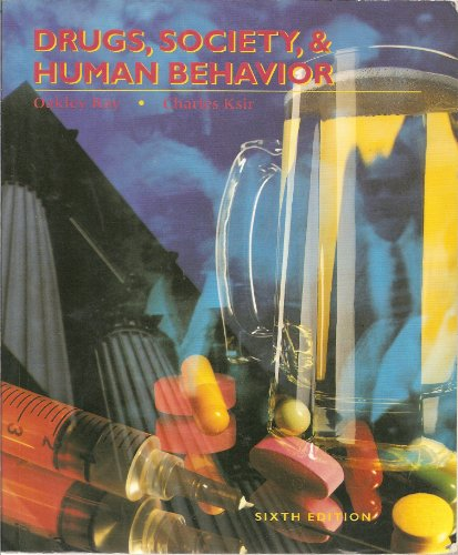 Drugs, Society, and Human Behavior 6th edition cover