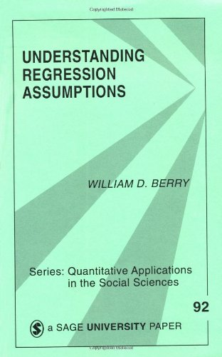 Understanding Regression Assumptions   1993 edition cover