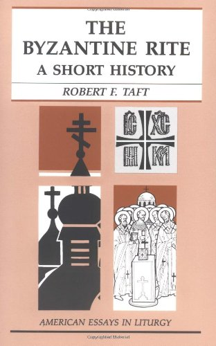 Byzantine Rite A Short History N/A edition cover