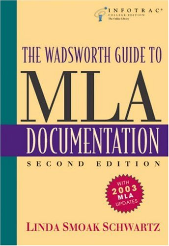 MLA Documentation  2nd 2004 (Revised) edition cover